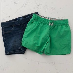 Lands End and Old Navy Shorts New without Tags